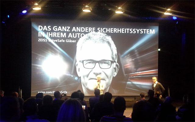 Zeiss DriveSafe Präsentation mit Christian Danner