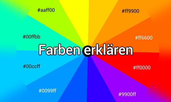 Wie Erkl 228 Rt Man Einem Blinden Farben