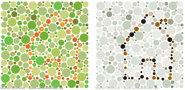 Rot Grün Sehschwäche Ursache Und Wirkung