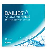 90 Tageskontaktlinsen Dailies AquaComfort Plus