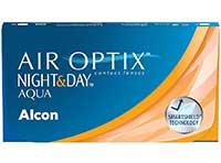 Air Optix Night & Day Aqua Monatslinsen 6 Stück