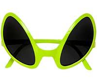 Brille von Außerirdischem, Halloween Mottoparty Widmann 0347O
