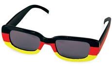 Fußball-WM Fanbrille Deutschland mit getönten Gläsern