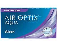 Gleitsicht-Monatslinsen 6 St. Air Optix Aqua Multifocal