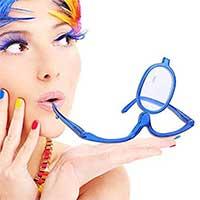 Make-Up Schminkbrille mit klappbaren Brillenglas