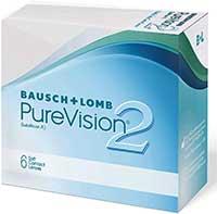 PureVision 2 Monatslinsen 6 Stück