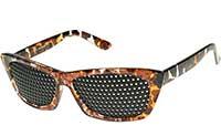 Rasterbrille biotec FMG braun marmoriert