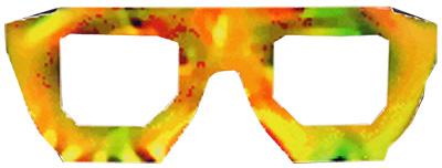 Anti-Gesichtserkennungsbrille (Bitte Anklicken zum Vergrößern)