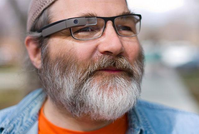 Google Brille auch für Brillenträger (?)