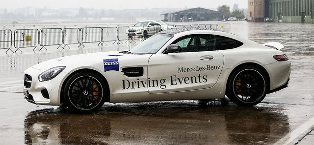 Mercedes Driving Evenet Berlin