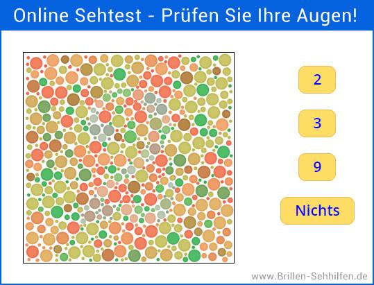 Online Sehtest von Brillen-Sehhilfen.de
