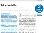 Deutsches Ärzteblatt: Refraktionsfehler