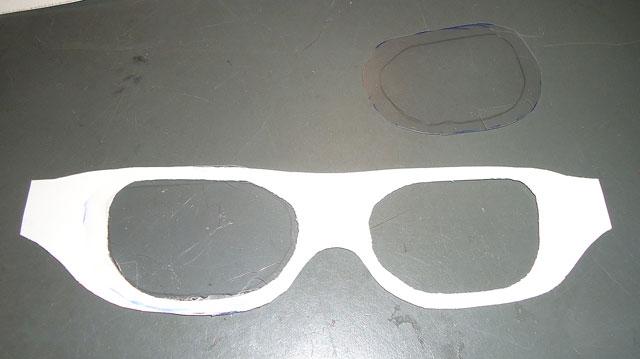 Brillen Basteln