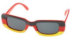 EM-Brille in Deutschlandfarben