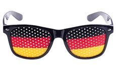 EM-Fanparty Brille deutschlandfarben