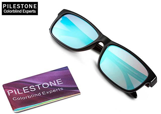 Pilestone-Brille gegen Rot-Grün-Schwäche