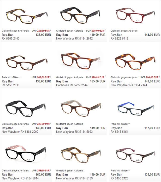 ray ban brille klassiker des brillendesigns. Black Bedroom Furniture Sets. Home Design Ideas