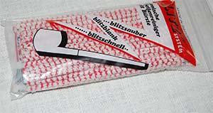 Blitz Bürsten-Pfeifenreiniger rot-weiß