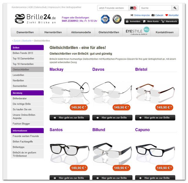Gleitsichtbrille Erklärung