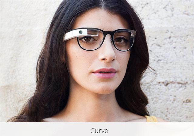 Google Brille Curve