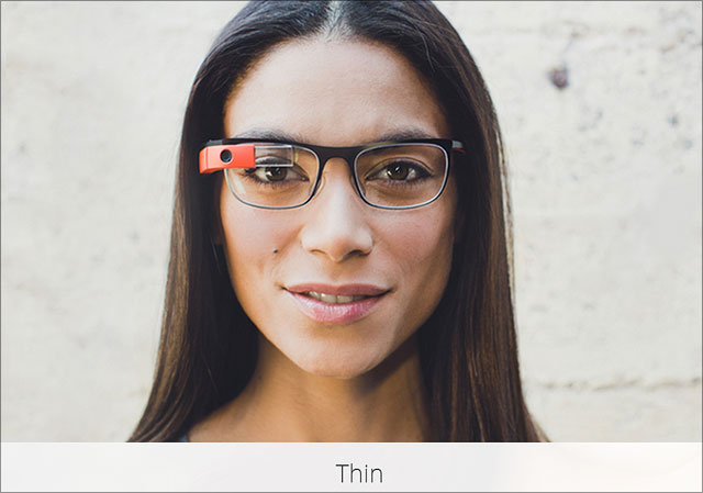 Google Brille Thin