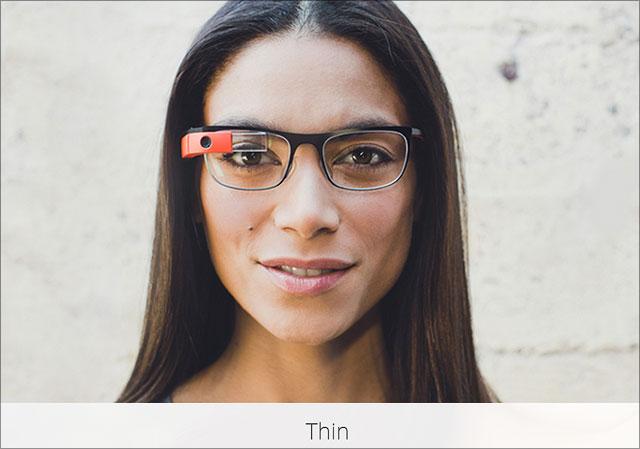 Google Glass - Modell Thin