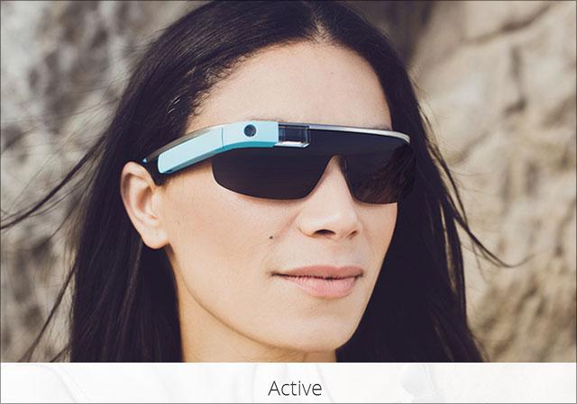 Google Sonnenbrille Active