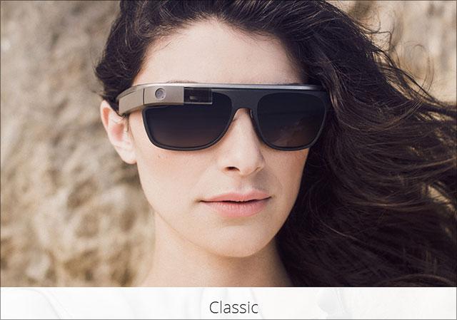 Google Sonnenbrille Modell