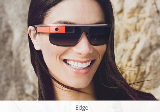 Google Sonnenbrille Edge