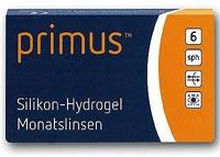 Primus Silikon-Hydrogel Monatskontaktlinse