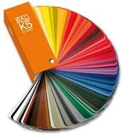 Farbfächer Ral Classic K5