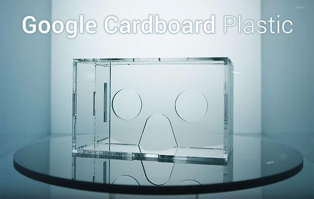 Google Cardboard Plastic Produktbild